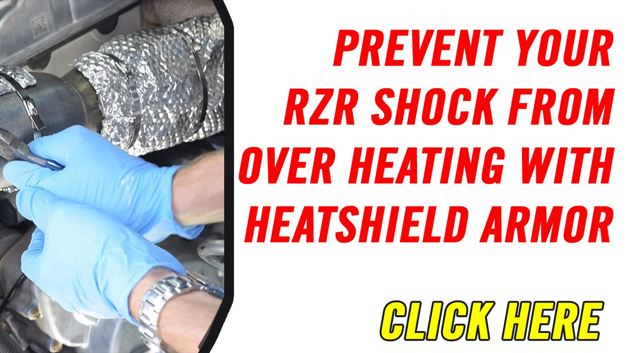 How to Prevent Polaris Rzr Shock from Overheating
