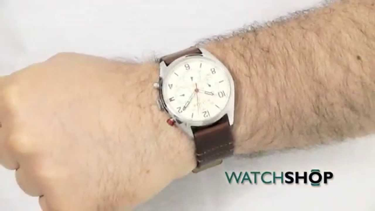 Hilfiger Uhr Tommy Hilfiger Men's Corbin Watch (1791208) - Youtube
