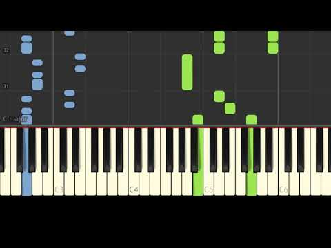 Pirates of the Aegean - Easy Piano Music - EASY&SLOW