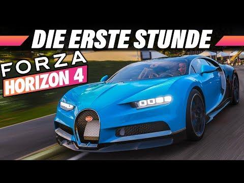 Forza Horizon 4 | Die 1. Stunde Im Spiel | Xbox ONE X 60 FPS Gameplay German Preview Deutsch