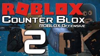 Lets Play Counter Blox: Roblox Offensive - Part 2 - 2 Headshots gehüpft aus der Smoke