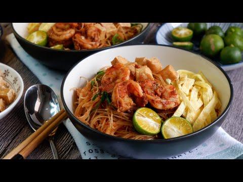 Dry Mee Siam 干炒米暹 How to cook bee hoon w/o breaking • Mee Siam Goreng • Bihun / Noodle Stir Fry