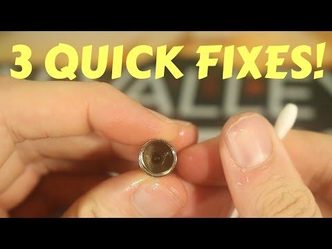 3 EASY Joyetech Cubis Spitback Fixes! Cubis, Cuboid Mini, and Eleaf Lyche Spitting Fix