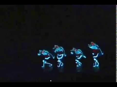 Baile luces de ne n incre ble youtube - Luces de neon ...