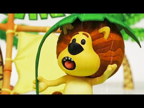 Raa Raa The Noisy Lion Official | Rainy Day | Full Episodes | Kids Cartoon | Videos For KIds