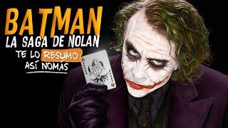 Batman, La Saga de Nolan | Te Lo Resumo Así Nomás#92