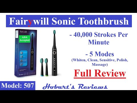 fairywill-electric-toothbrush-|-fw-507-|-best-electric-toothbrush-under-$50-!!!