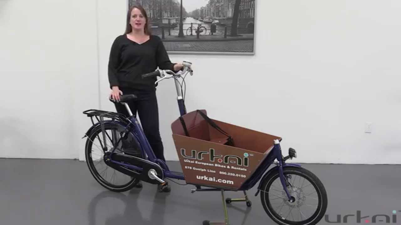 Spiksplinternieuw Urkai European Bikes: Why Kendra loves the Bakfiets.nl cargo bike ET-94
