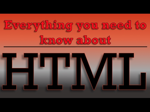 HTML Tutorial For Beginners - Sup And Sub Elements