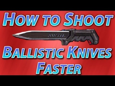 Ballistic Knife Black Ops How to Black Ops 2 How to Shoot