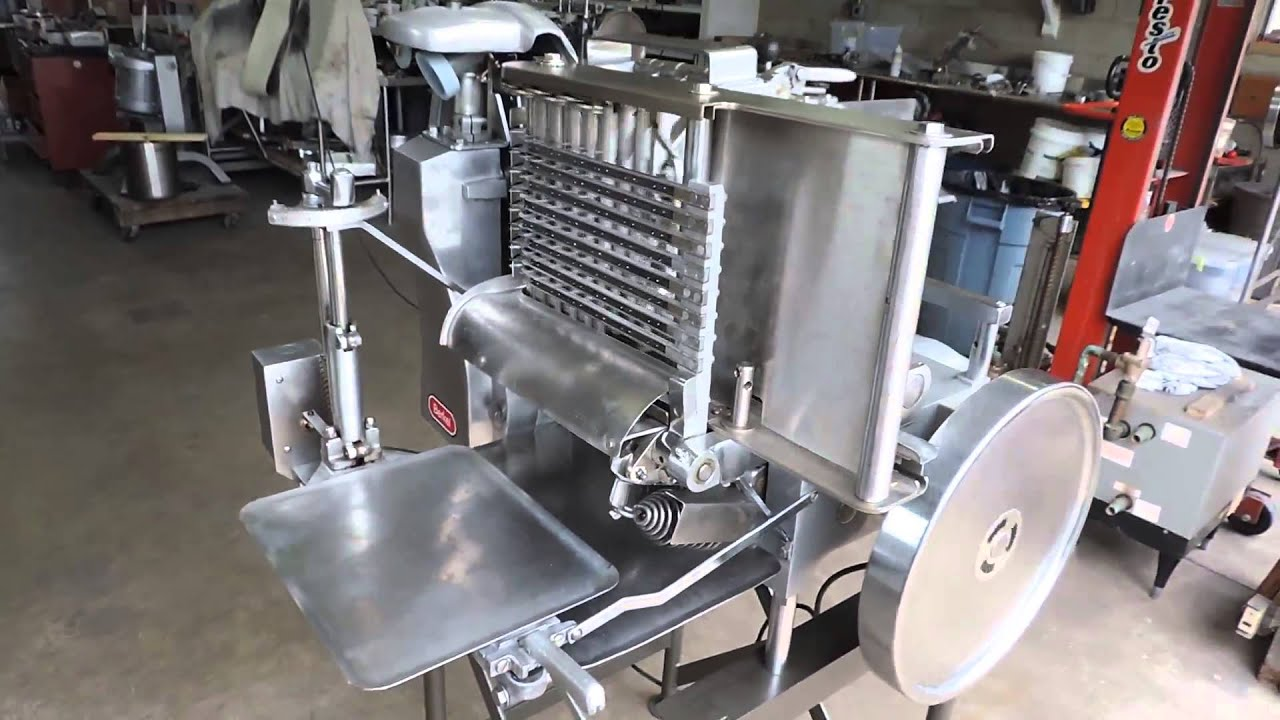 Berkel 180D Commercial Automatic Meat & Cheese Slicer Stacker on ...