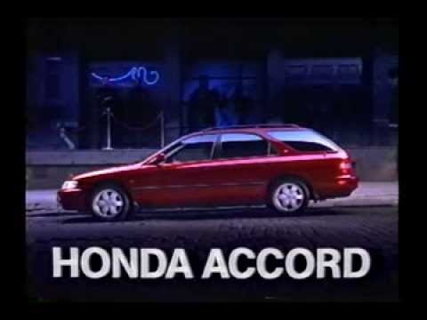 【自動車CM】HONDA ACCORD WAGON (CE1/CF2)