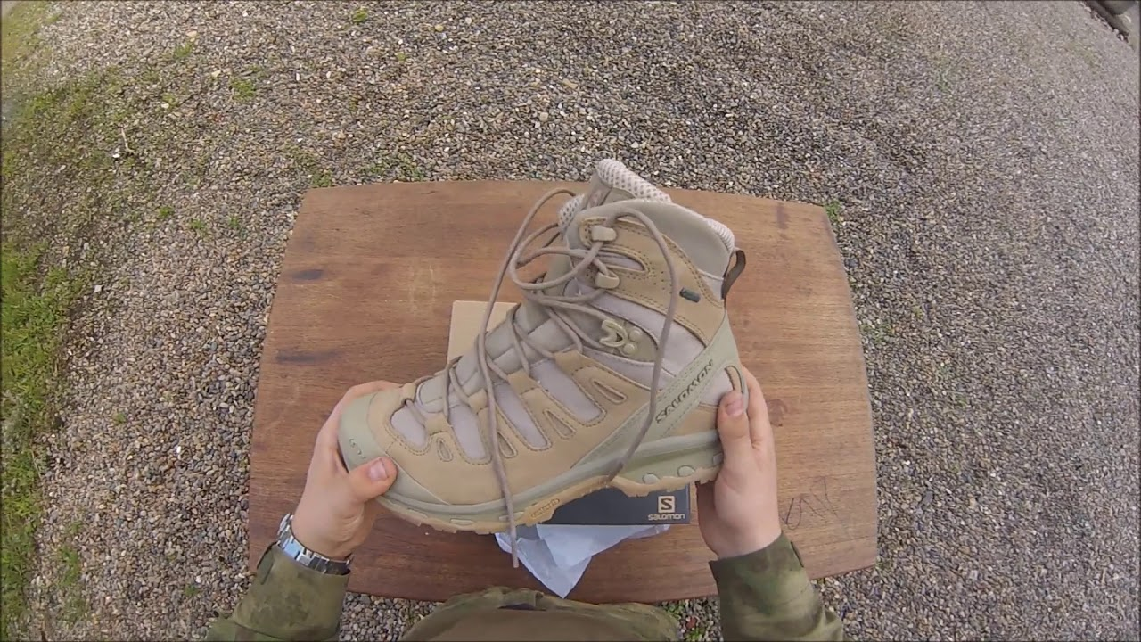 19589b0e1e2 Salomon Forces Quest 4D GTX UNBOXING DANSK