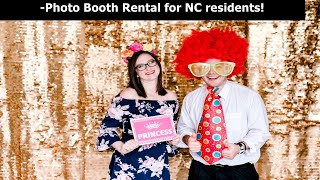 Photo Booth Rental NC | Dow Oak Events | Best in NC!