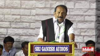 Dalits & Vanniyars Should Live As Brothers - Vaiko Speech @ Thiruma Birthday!