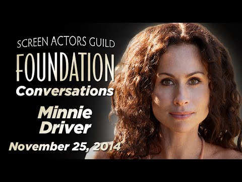 Conversations with Minnie Driver