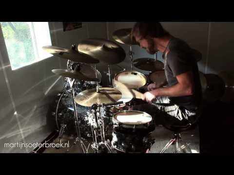 """Drum Solo """"Until The End"""" (2 over 3 ostinato & modulations) // performance by DrummerMartijn"""