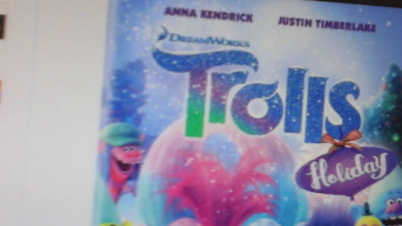 Lets Take A Look At The Trolls Holiday 2017 On DVD