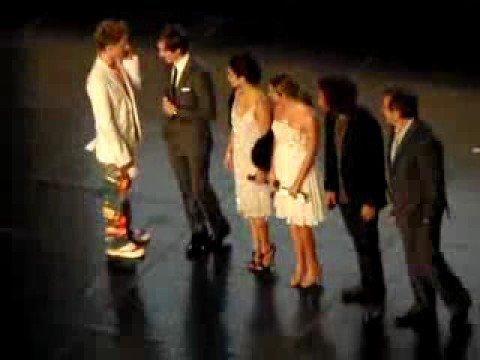 Les acteurs à l'avant premiére High school Musical 3