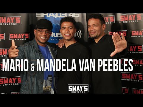"Mario Van Peebles and Son Mandela on New Roots Series Being More Than a Project, ""It's Our History"""