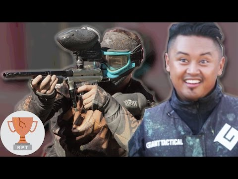 Thumbnail: Regular People Vs. Professional Paintballers