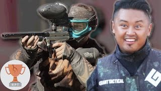 Regular People Vs. Professional Paintballers