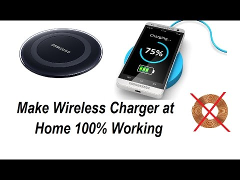 Make Wireless Charger At Home Work 100 No Need Any Coil Or