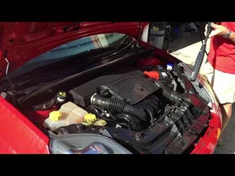 Ford Fiesta Zetec S Engine Cleaning