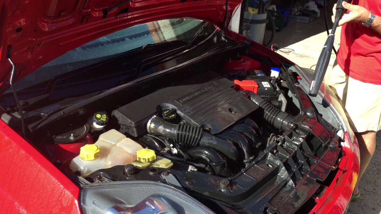 Ford Fiesta Zetec S Engine Cleaning Youtube