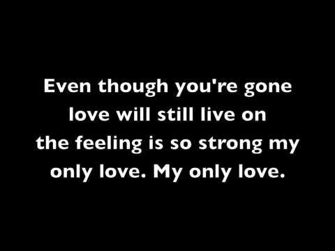 Sailor Moon My Only Love- Lyrics