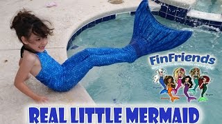 Fin Fun Mermaid Tail Real Live Little Mermaid