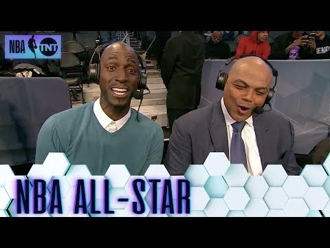 Chuck and KG Taking Over All-Star Pregame | All-Star