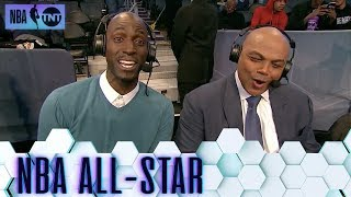 Chuck and KG Taking Over All-Star Pregame | All-Star 2019