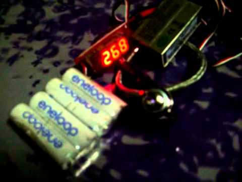 CDI for  gas R/C engine ignition. Double spark at low rpm