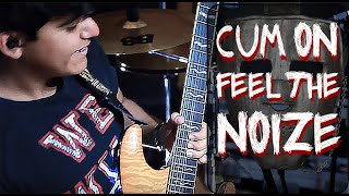 Cum On Feel The Noize - Quiet Riot Guitar Solo Cover