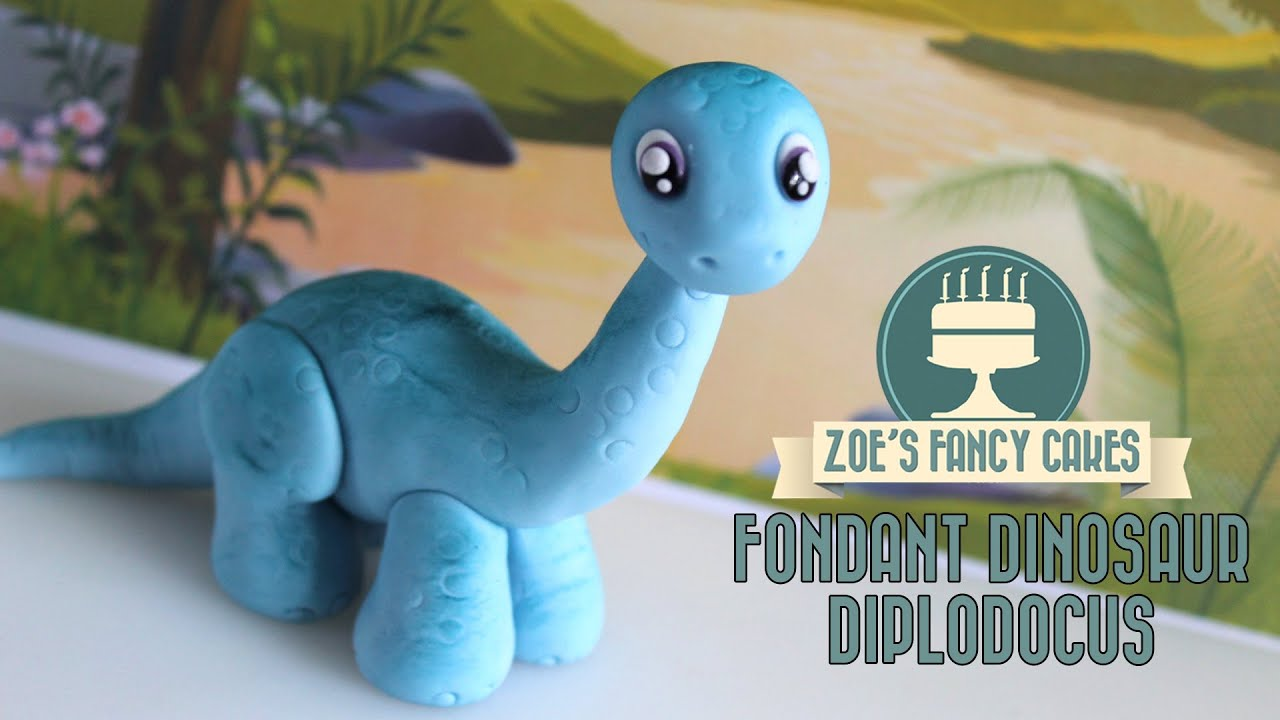Dinosaur Model How To Make A Diplodocus Cake Topper Jurassic World
