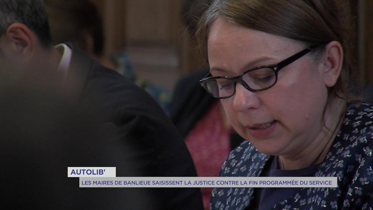 Autolib' : les maires de banlieue saisissent la justice contre la fin programmée du service