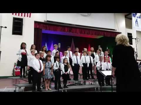 El Dorado Adventist School K-4 Christmas song