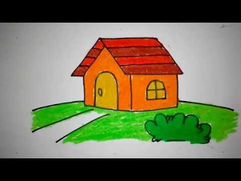 41 Koleksi Tutorial Gambar Rumah Untuk Anak Tk HD Terbaru