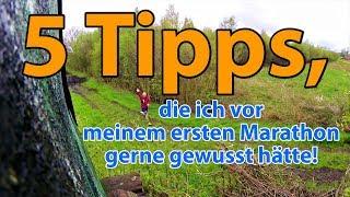 5 TIPPS FÜR DEINEN ERSTEN MARATHON