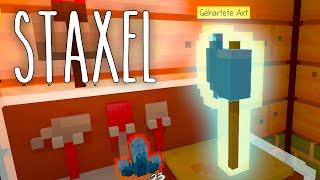 Staxel #12 | Eine magische Axt | Gameplay German Deutsch thumbnail
