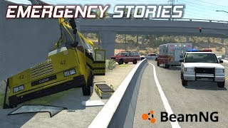 "Emergency Stories [4] (Short Stories) - BeamNG Drive - ""Bus Crash"""