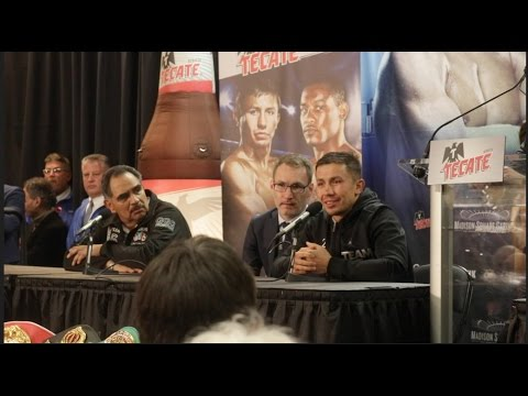 GENNADY GOLOVKIN IMMEDIATE REACTION TO CONTROVERSIAL POINTS WIN OVER DANNY JACOBS **POST FIGHT**