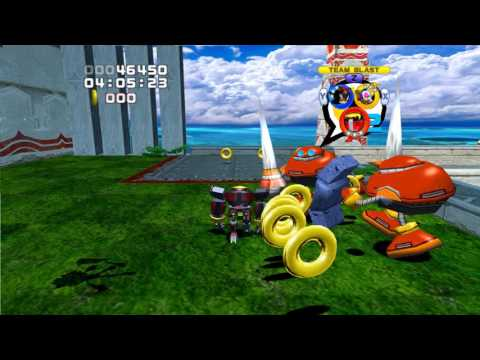 Sonic Heroes (GC) Team Dark's Story