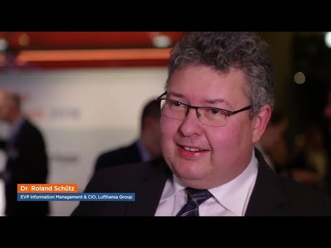Interview mit Dr. Roland Schütz (Lufthansa Group) - Strategisches IT-Management 2018
