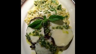 Cooking with Don the R&R Chef *Grilled Eggplant Parmesan with fresh Basil Pesto