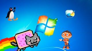 Destruyendo Windows 7 con virus