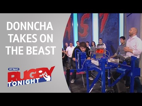 Donncha O'Callaghan sets new record on The Beast! | Rugby Tonight