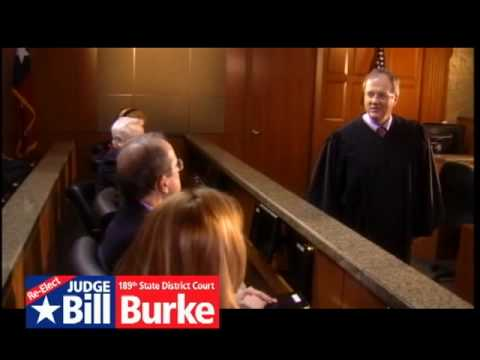 Judge Bill Burke, 189th State District Court