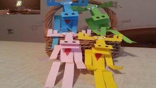 Бумажки Видео для Детей  Бумажно Разноцветный Лось Аристотель АриD Y